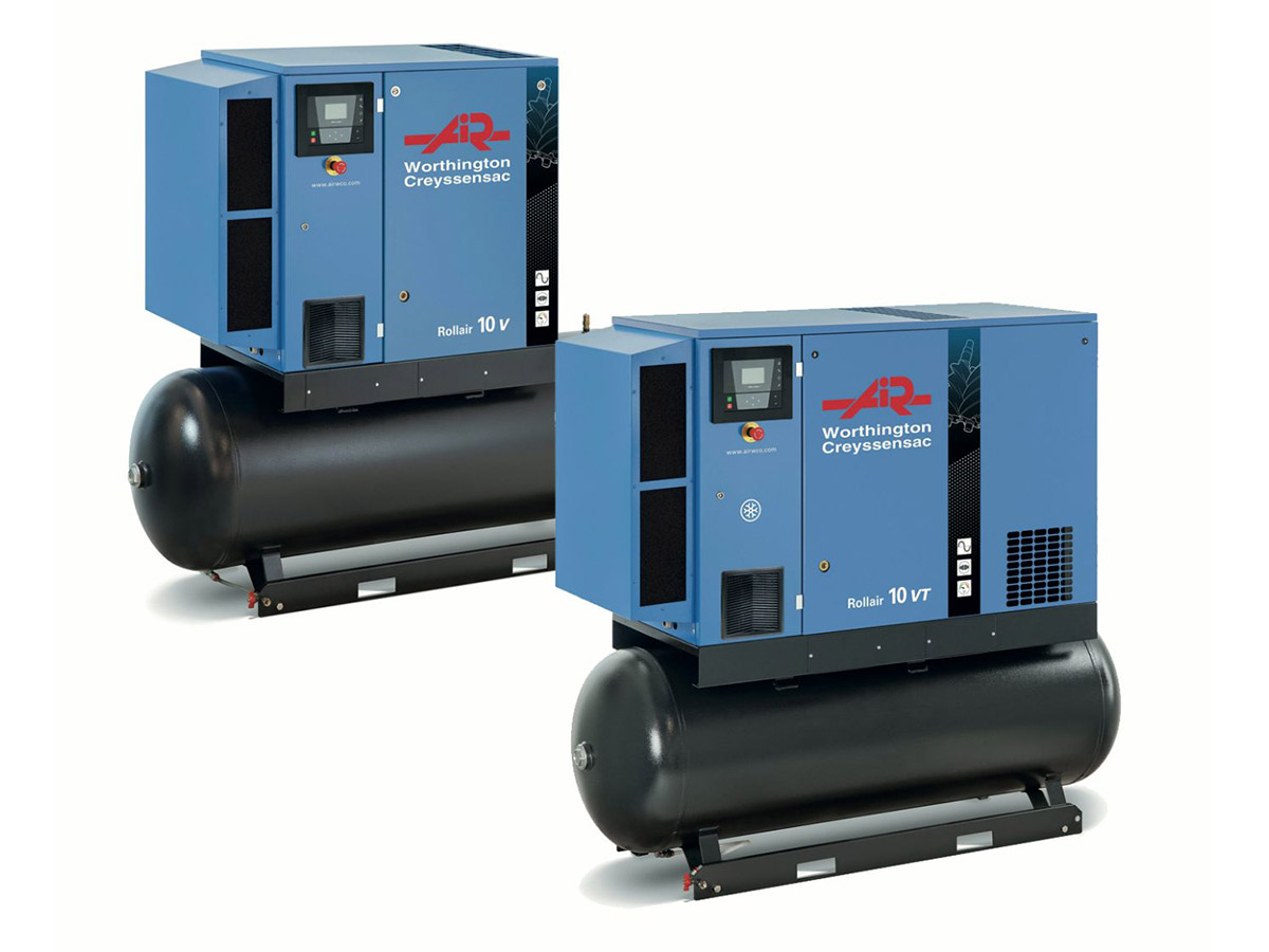 Rollair 10V-20EV Variable Speed Screw Compressor