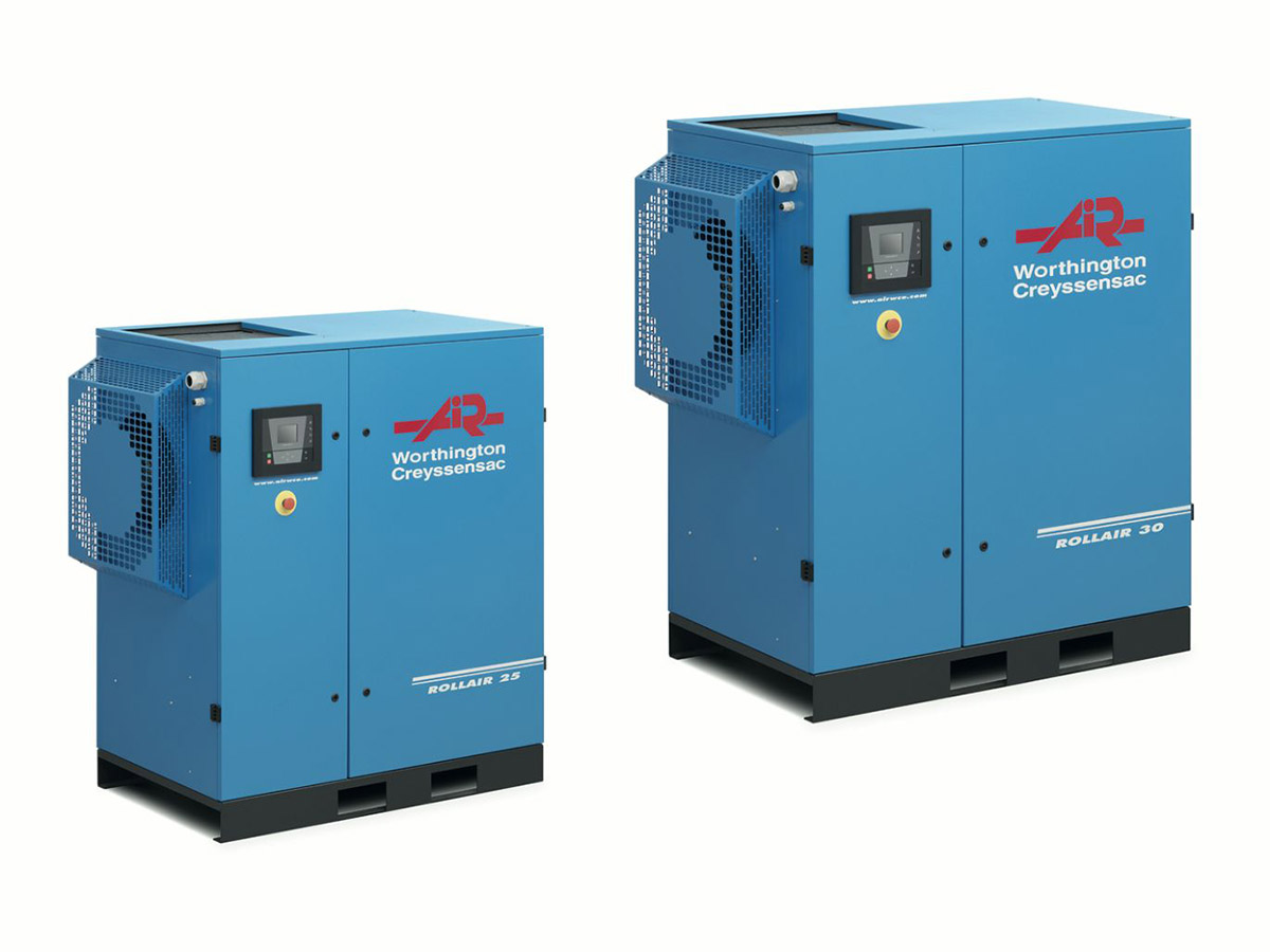 Rollair 15-30E HP Fixed Speed Screw Compressor
