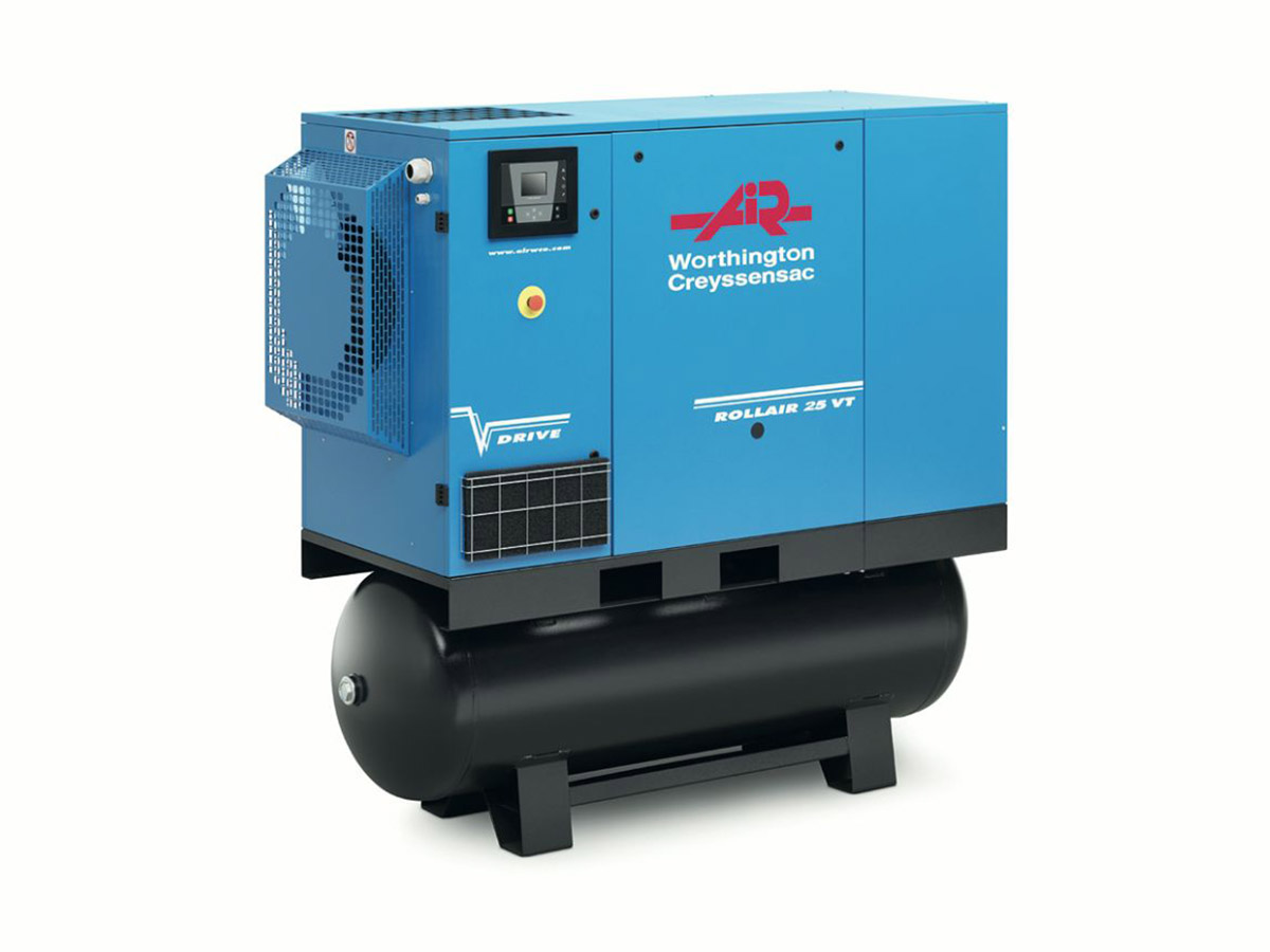 Rollair 20-30EV Variable Speed Screw Compressor