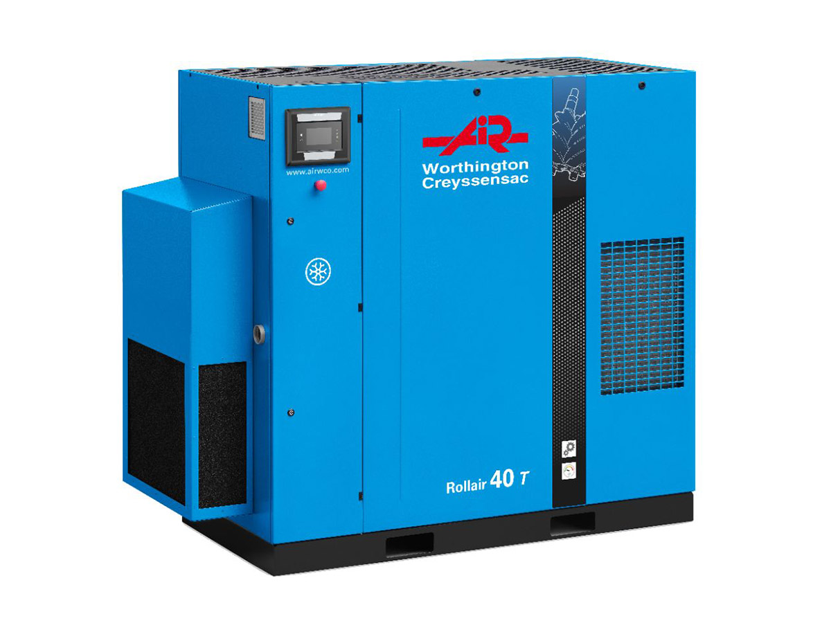 Rollair 40-150 HP Fixed Speed Screw Compressor
